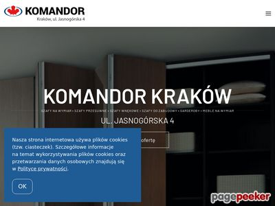 Oferta i dane firmy AWIN Komandor
