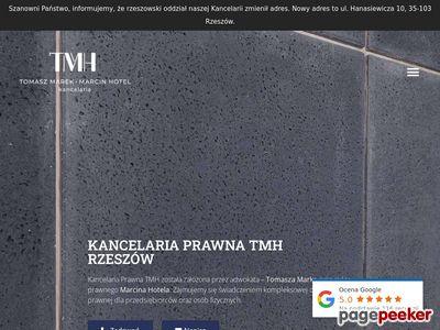 Oferta i dane firmy Kancelaria Prawna TMH