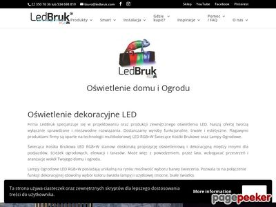 Strona www firmy LedBruk