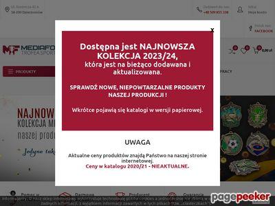 Strona www firmy MEDIAFORM