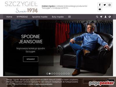 Strona internetowa firmy Meskie-Spodnie.pl