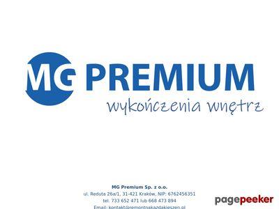 Oferta i dane firmy MG Premium