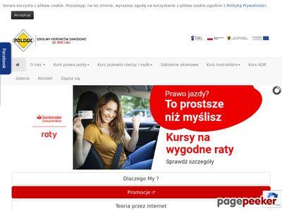 Strona www firmy POLDEK