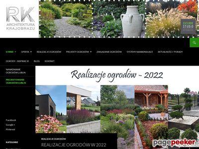 Oferta i dane firmy R.K. Architektura Krajobrazu
