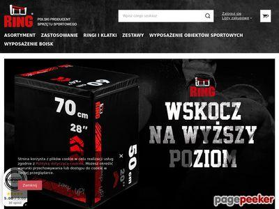 Strona www firmy Ring-Sport.pl