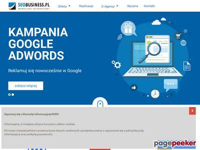 Strona www firmy Seobusiness