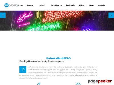 Oferta i dane firmy toPROMO Advertising Group