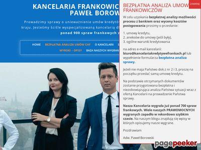 Strona www firmy adw. Paweł Borowski