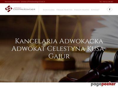 Oferta i dane firmy adw. C. Kusa-Gajur
