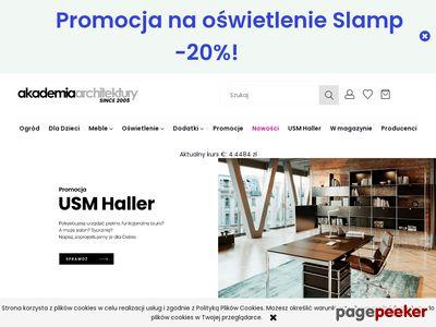Strona www firmy Akademia Architektury Sp. z o.o.