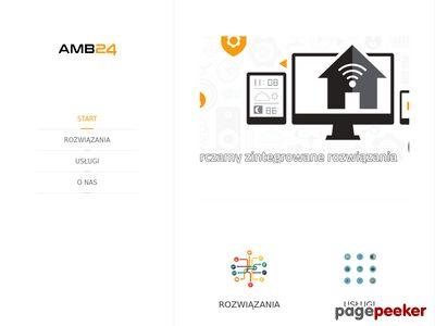 Strona www firmy AMB