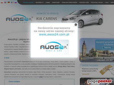 Strona www firmy AWOS