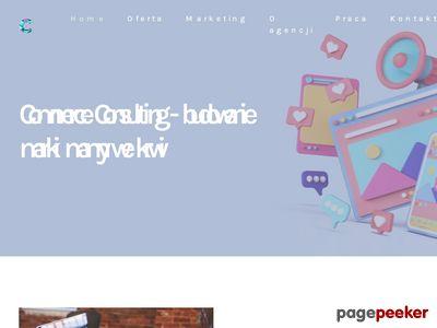 Strona www firmy Commercial Communications