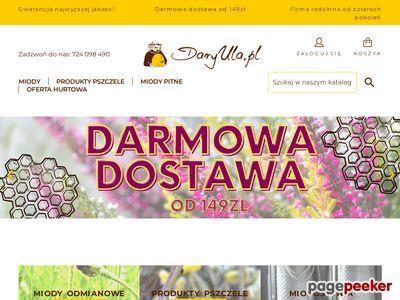 Strona www firmy DaryUla.pl