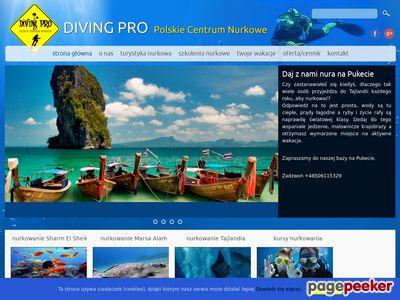 Oferta i dane firmy Centrum Nurkowe Diving Pro