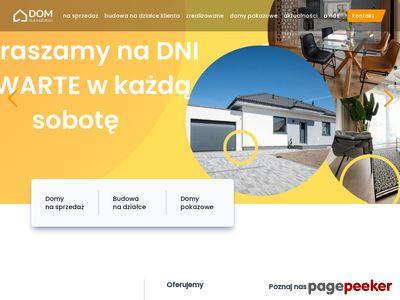 Strona internetowa firmy Dom Dla Każdego
