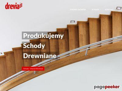 Strona www firmy Drevia
