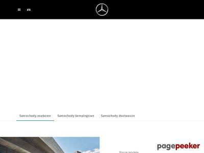 Strona internetowa firmy Duda-Cars