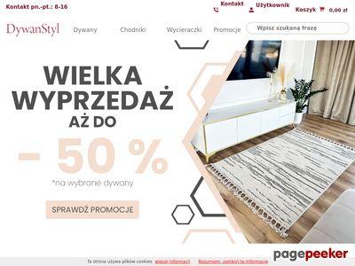 Strona www firmy DywanStyl.pl