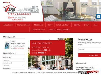 Strona www firmy Extra Invest