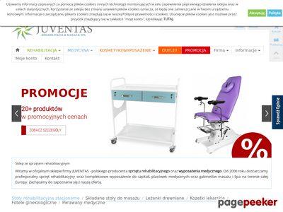 Strona www firmy JUVENTAS