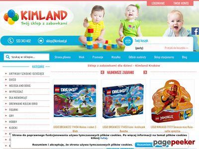 Strona www firmy Kimland.pl