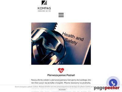 Strona www firmy Kompas