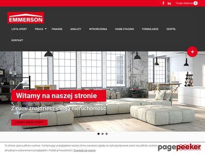 Strona www firmy Emmerson-Lumico