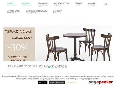 Strona www firmy Meble Radomsko