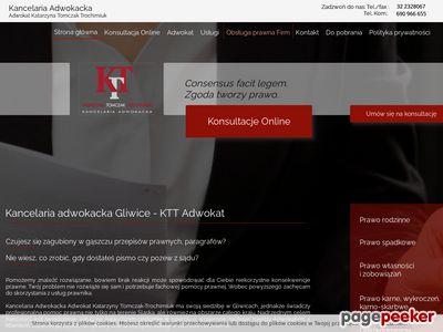 Oferta i dane firmy adw. K. Tomczak-Trochimiuk