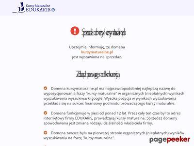 Oferta i dane firmy KursyMaturalne.pl