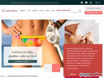 Strona www firmy Laser DeLux