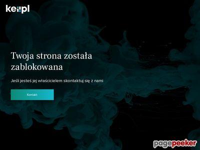 Strona www firmy Magnolia Nieruchomości (DEJA GROUP)