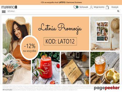 Strona www firmy Murrano.pl