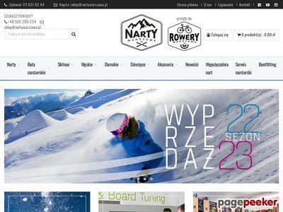 Strona www firmy NartyWarszawa.pl