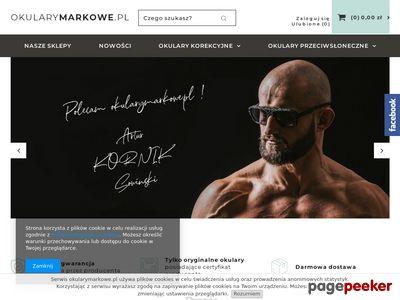 Strona www firmy OkularyMarkowe.pl