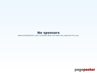 Oferta i dane firmy Oriental Divers