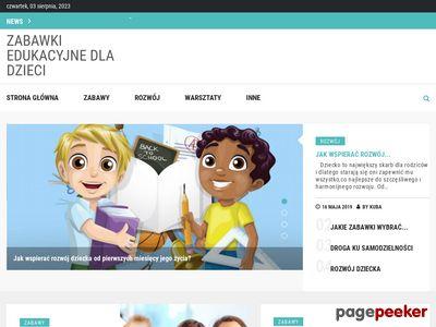 Strona www firmy PandaToys.com.pl