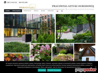 Strona www firmy Rafał Żukowski - Pracownia Sztuki Pgrodowej