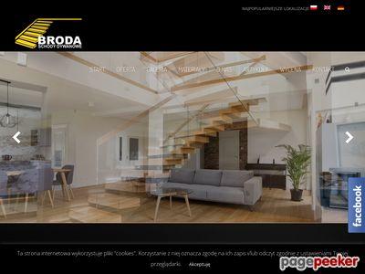 Strona www firmy BRODA