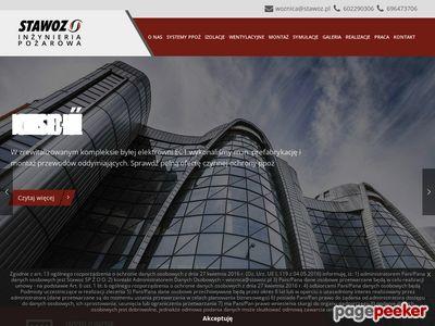 Strona internetowa firmy Stawoz
