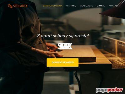 Strona www firmy Stolarex