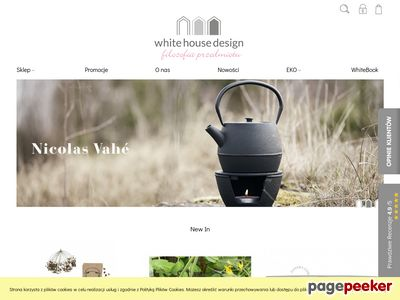 Strona www firmy White House Design