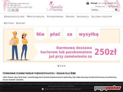 Strona www firmy Jumika