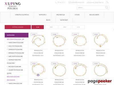 Oferta i dane firmy Xuping.com.pl