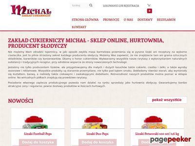 Oferta i dane firmy Zakład Cukierniczy Michał