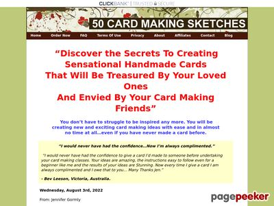 50 Card Making Sketches 1