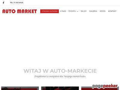 Sklep motoryzacyjny Wrocław - Auto-Market