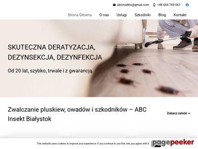 Dezynsekcja Białystok