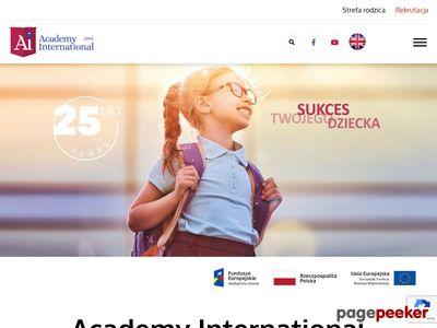 Prywatne przedszkole Warszawa